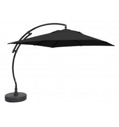 Sun Garden - Easy Sun zweefparasol Vierkant zonder flappen - Olefine Carbone doek