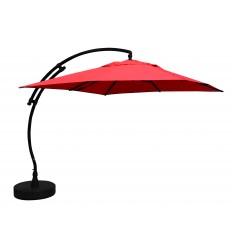 Parasol déporté Sun Garden - Easy Sun carré sans volants - toile Olefin Terracotta