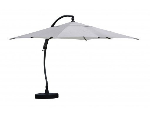 parasol d port sun garden easy sun carr sans volants toile olefin titanium. Black Bedroom Furniture Sets. Home Design Ideas