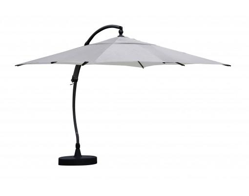 Sun Garden - Easy Sun cantilever parasol Square without flaps - Olefin Titanium canvas