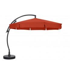 Sun Garden - Easy Sun zweefparasol Classic met flappen - Olefin Terracotta doek