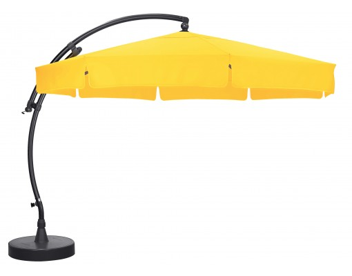 Sun Garden - Easy Sun zweefparasol Classic met flappen - Olefin Zonnebloem doek