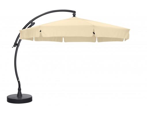 Parasol déporté Sun Garden - Easy Sun classique avec volants - toile Polyester Beige