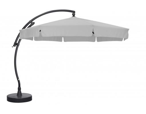 Parasol déporté Sun Garden - Easy Sun classique avec volants - toile Polyester Gris