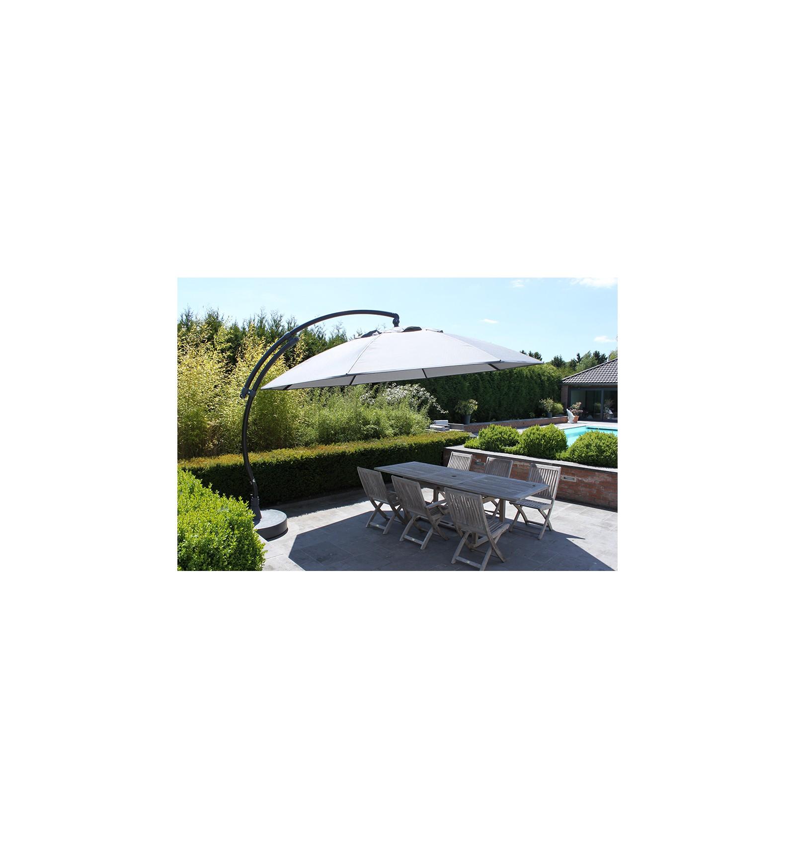 parasol d port sun garden easy sun rond xl sans volants. Black Bedroom Furniture Sets. Home Design Ideas