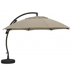 Parasol Sun Garden - Easy Sun 375 XL Olefin light taupe