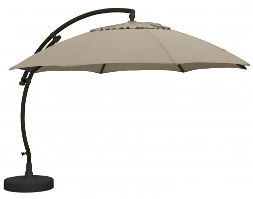 Parasol Sun Garden   Easy Sun XL Olefin light taupe
