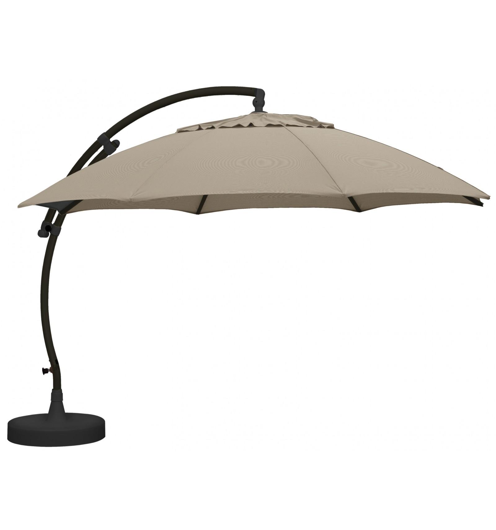 parasol sun garden easy sun xl olefin light taupe. Black Bedroom Furniture Sets. Home Design Ideas