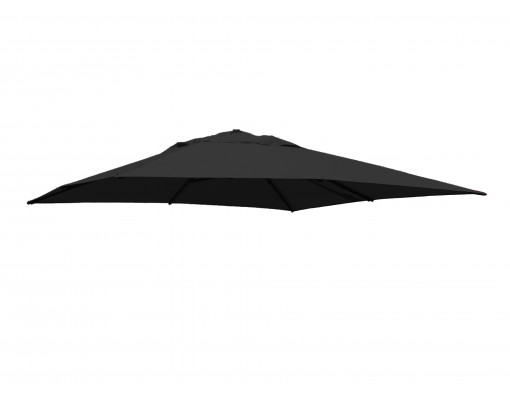 Olefin Anthracite replacement canvas for Easy Sun parasol 320