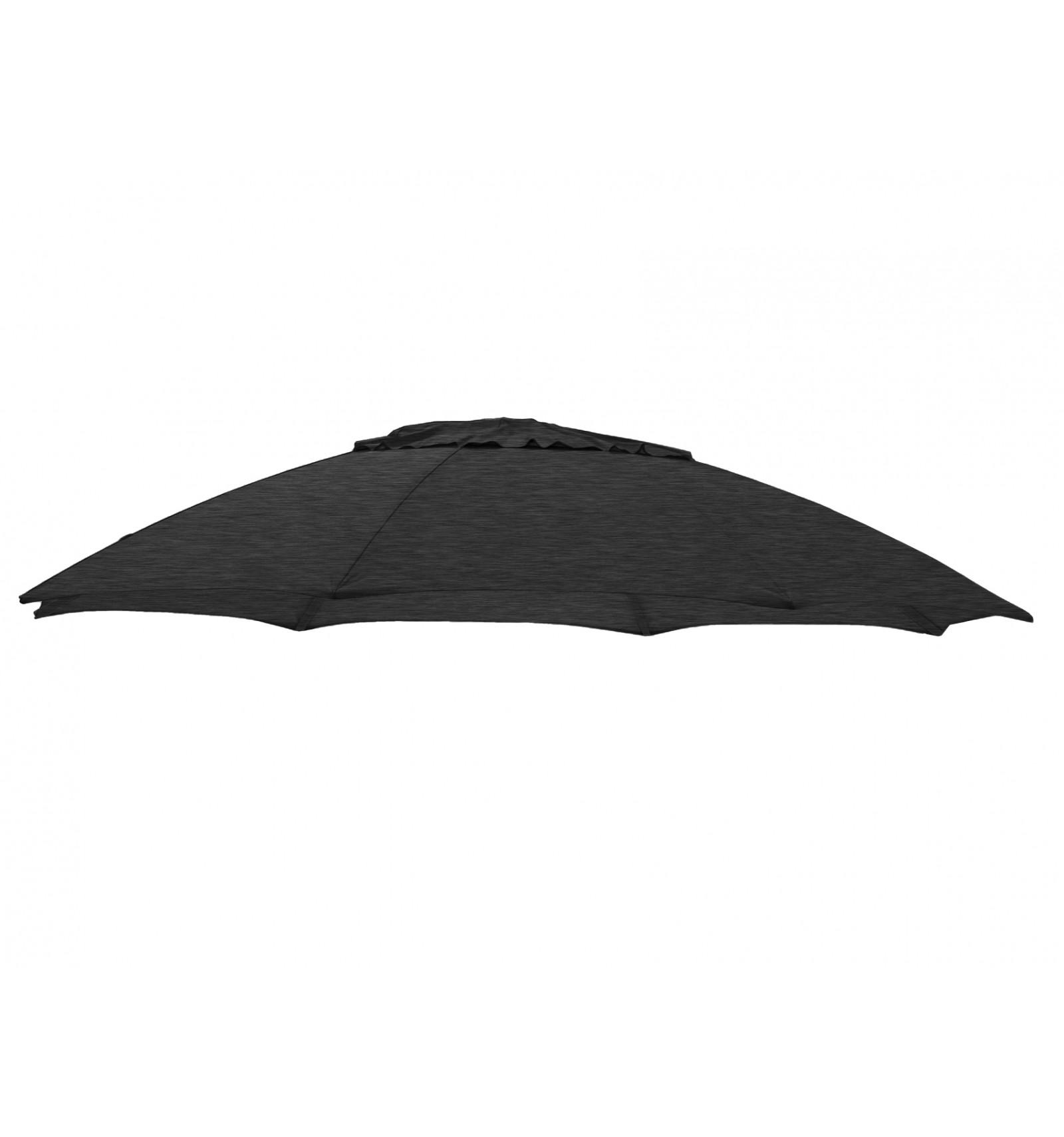 toile de parasol sun garden 350 cm bleu azure en polyester. Black Bedroom Furniture Sets. Home Design Ideas