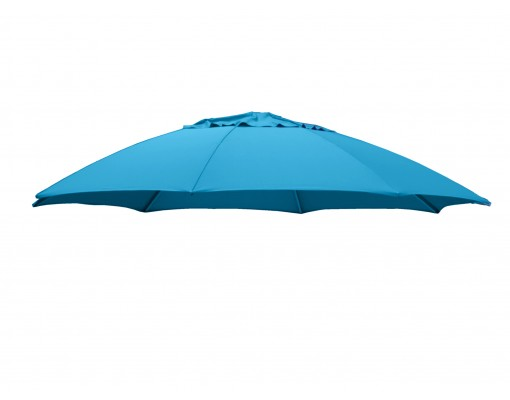 Toile de remplacement Bleu Pétrole en Olefin pour parasol Easy Sun 375