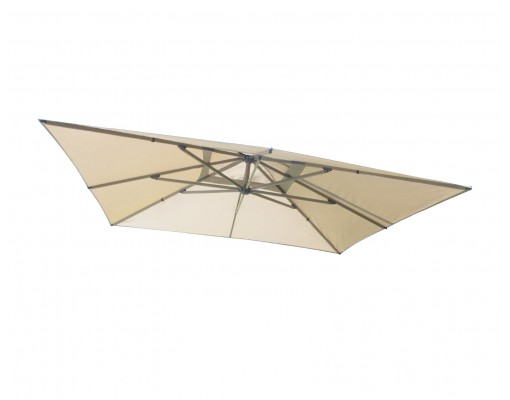 Olefin replacement canvas for Easy Sun parasol 320, light Taupe