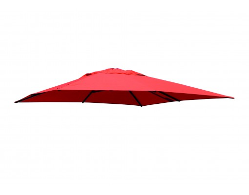 Toile de remplacement Terracotta en Olefin pour parasol Easy Sun 320