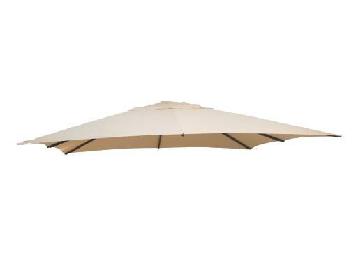 Toile de remplacement Beige en Polyester pour parasol Easy Sun 320