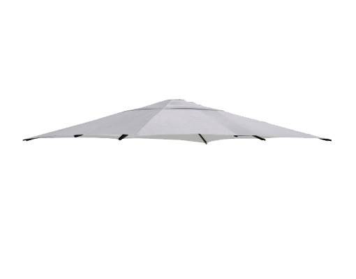 Polyester anthracite replacement canvas for Easy Sun parasol 320