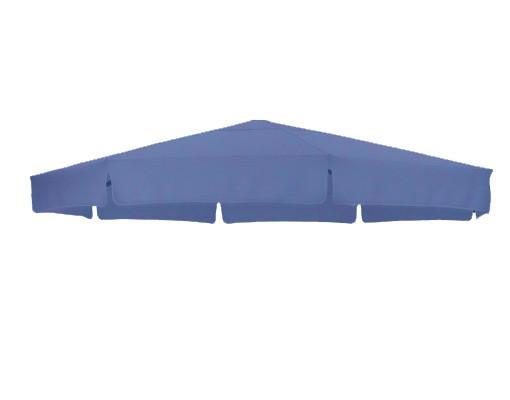 Toile de remplacement Bleu Pétrole en Olefin pour parasol Easy Sun 350
