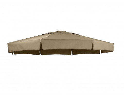 Olefin Taupe replacement canvas for Easy Sun parasol 350