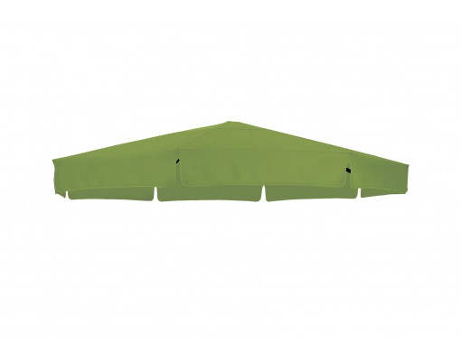 Replacement canvas in Olefin, green, for Easy Sun parasol 350