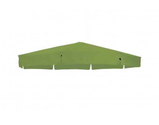 Toile de remplacement vert olive en Olefin pour parasol Easy Sun 350