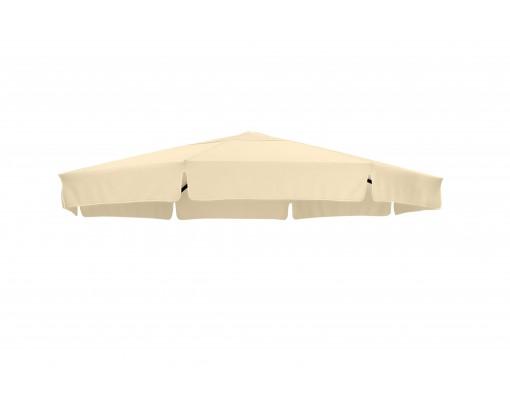 Toile de remplacement Beige en Polyester pour parasol Easy Sun 350