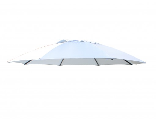 Olefin replacement canvas for Easy Sun parasol 375, light anthracite