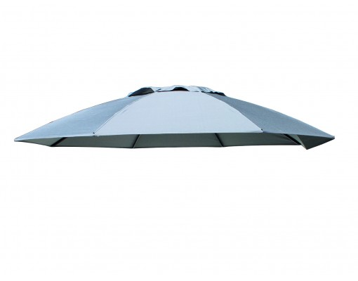 Toile de remplacement Titanium en Olefin pour parasol Easy Sun 375