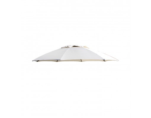 Polyester Beige replacement canvas for Easy Sun parasol 375