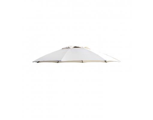 Toile de remplacement Beige en Polyester pour parasol Easy Sun 375
