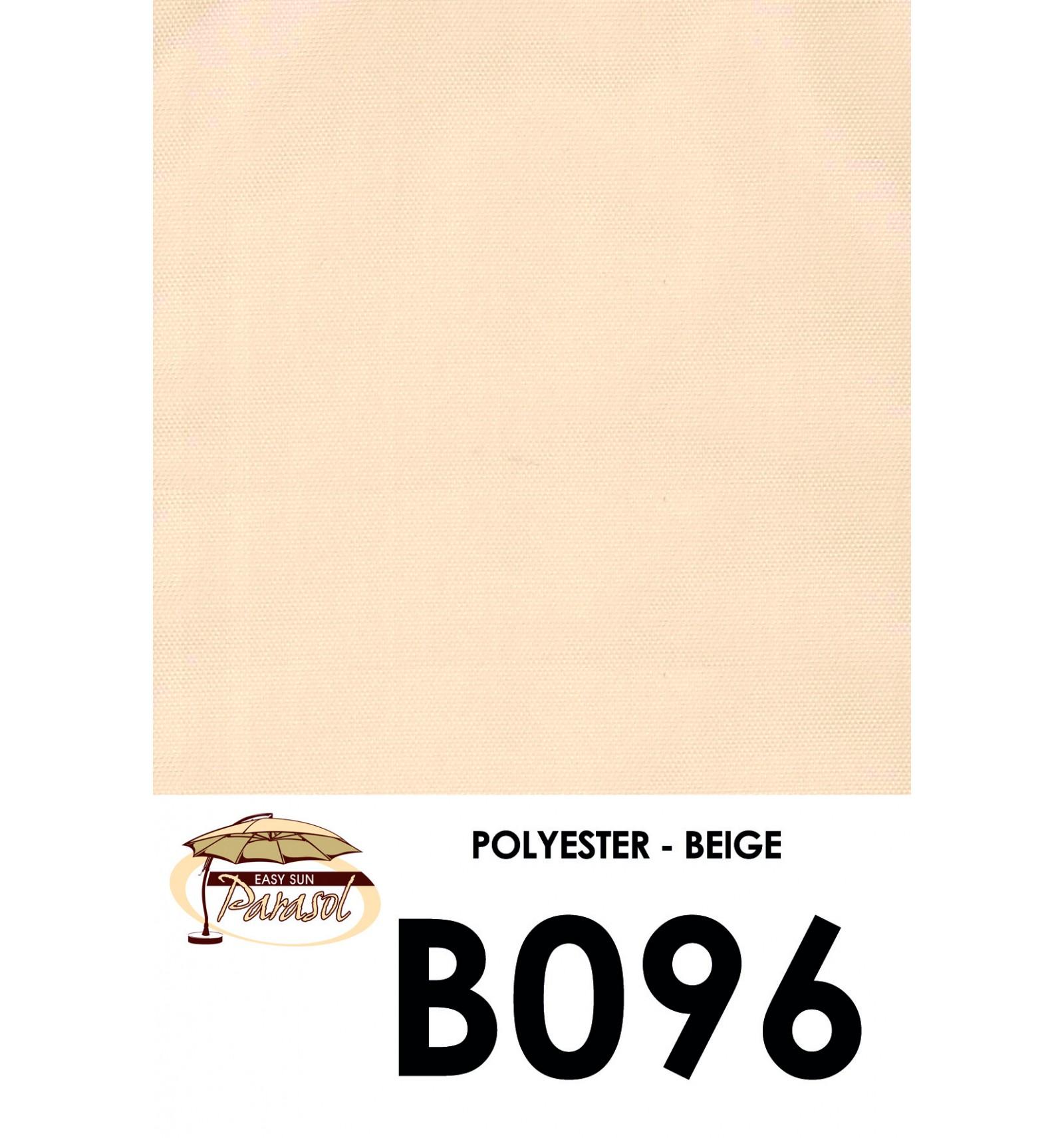 toile de remplacement beige en polyester pour parasol easy. Black Bedroom Furniture Sets. Home Design Ideas