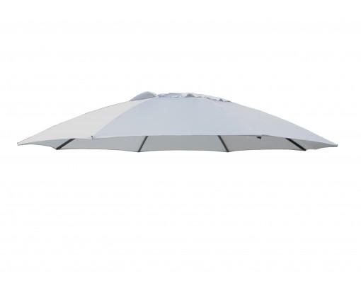 Toile de remplacement Gris en Polyester pour parasol Easy Sun 375