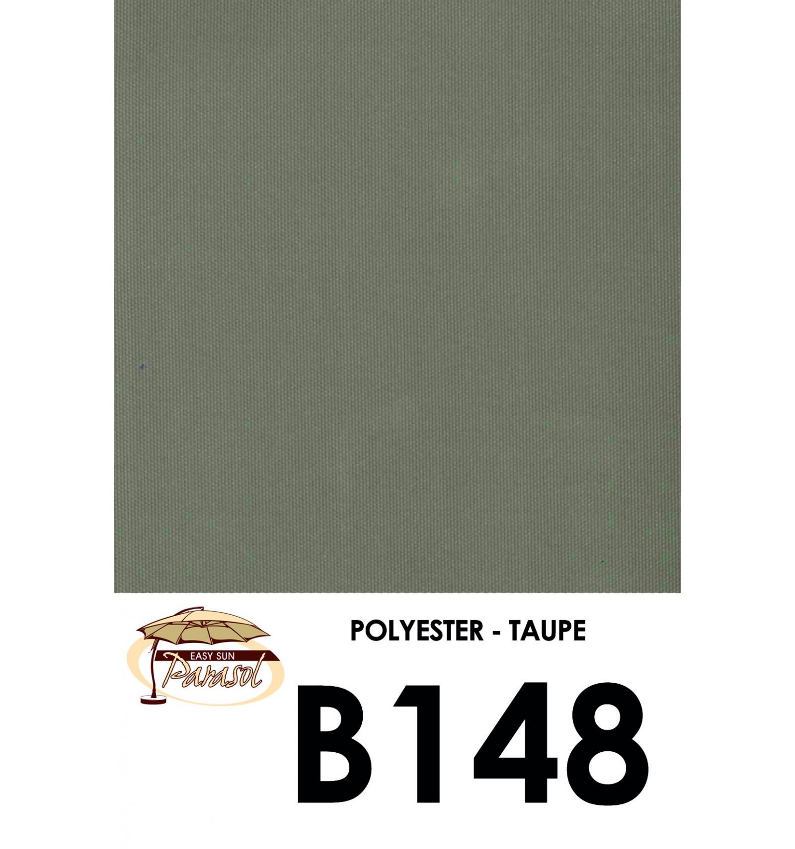 toile de remplacement taupe en polyester pour parasol easy. Black Bedroom Furniture Sets. Home Design Ideas