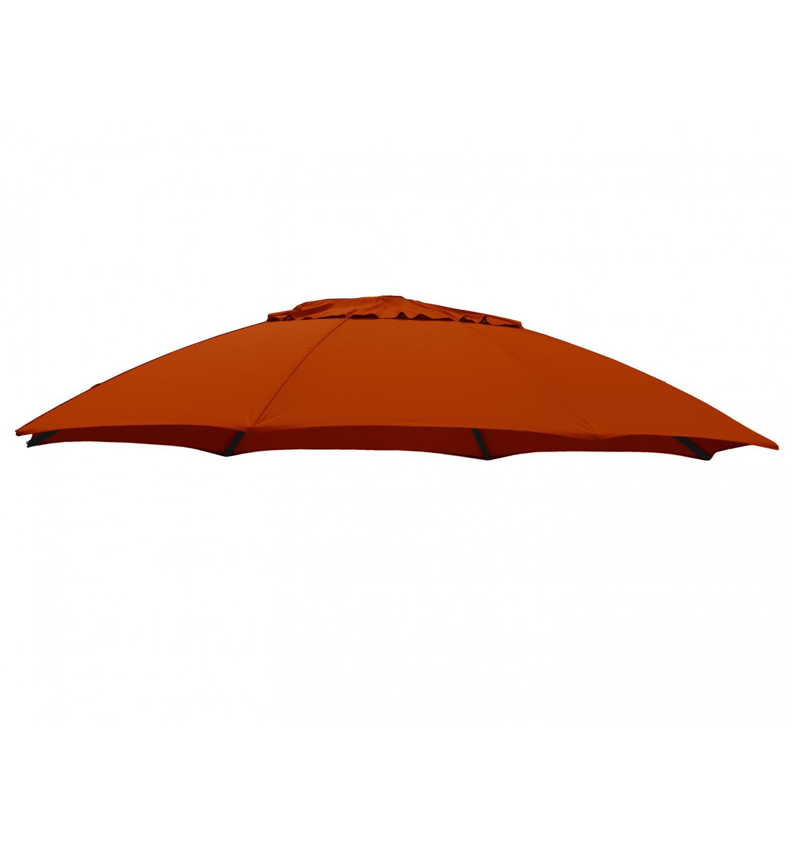 Superbe Sun Garden Parasol B131 Replacement Polyester To 375 CM Terracotta