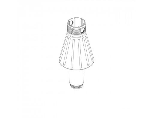 Standard cone standard for Easy Sun white parasol base