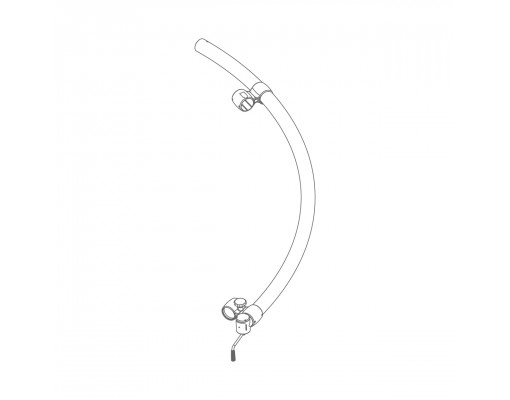 Sliding mast (anthracite) for Easy Sun - Sun Garden parasol