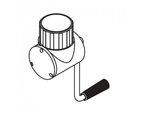 Complete white reel for Easy Sun - Sun Garden parasol
