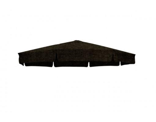 Toile de remplacement chocolat en Olefin pour parasol Easy Sun 350