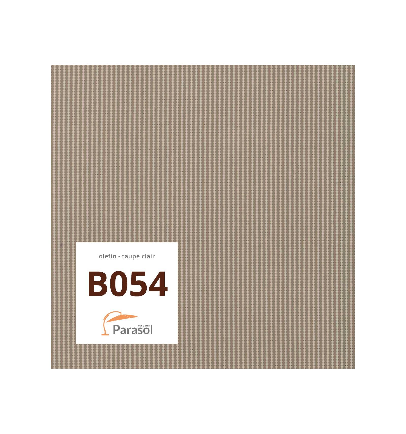 toile de remplacement light taupe en olefin pour parasol easy sun 320. Black Bedroom Furniture Sets. Home Design Ideas