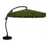 Parasol déporté Sun Garden - Easy Sun classique avec volants - toile Olefin Vert Forêt