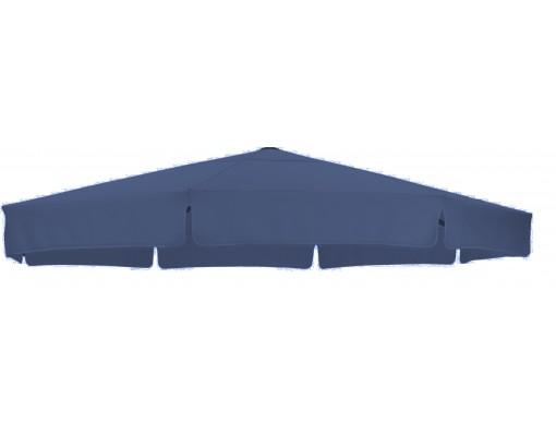 Toile de remplacement Bleu marine en Olefin pour parasol Easy Sun 350