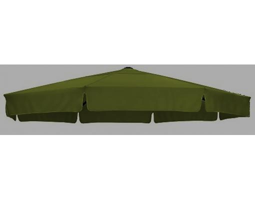 Toile de remplacement POLYESTER vert gazon en Olefin pour parasol Easy Sun 350
