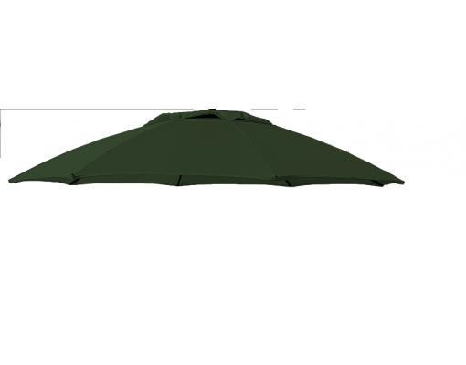 Toile de remplacement Chocolat en Olefin pour parasol Easy Sun 375
