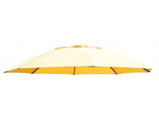 Toile de remplacement tournesol en Olefin pour parasol Easy Sun 375