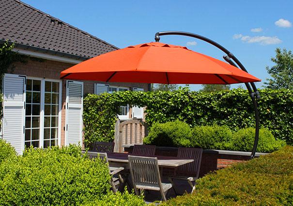 Bien choisir votre parasol d port easy sun - Toile de parasol deporte ...