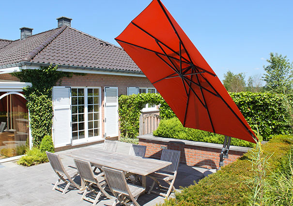 bien choisir votre parasol d port easy sun. Black Bedroom Furniture Sets. Home Design Ideas